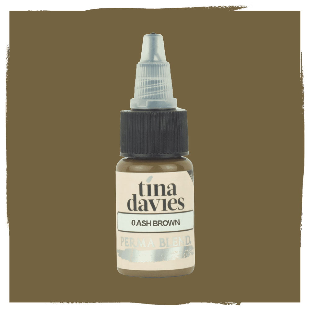 Perma Blend Pigment - Tina Davies - 0 Ash Brown