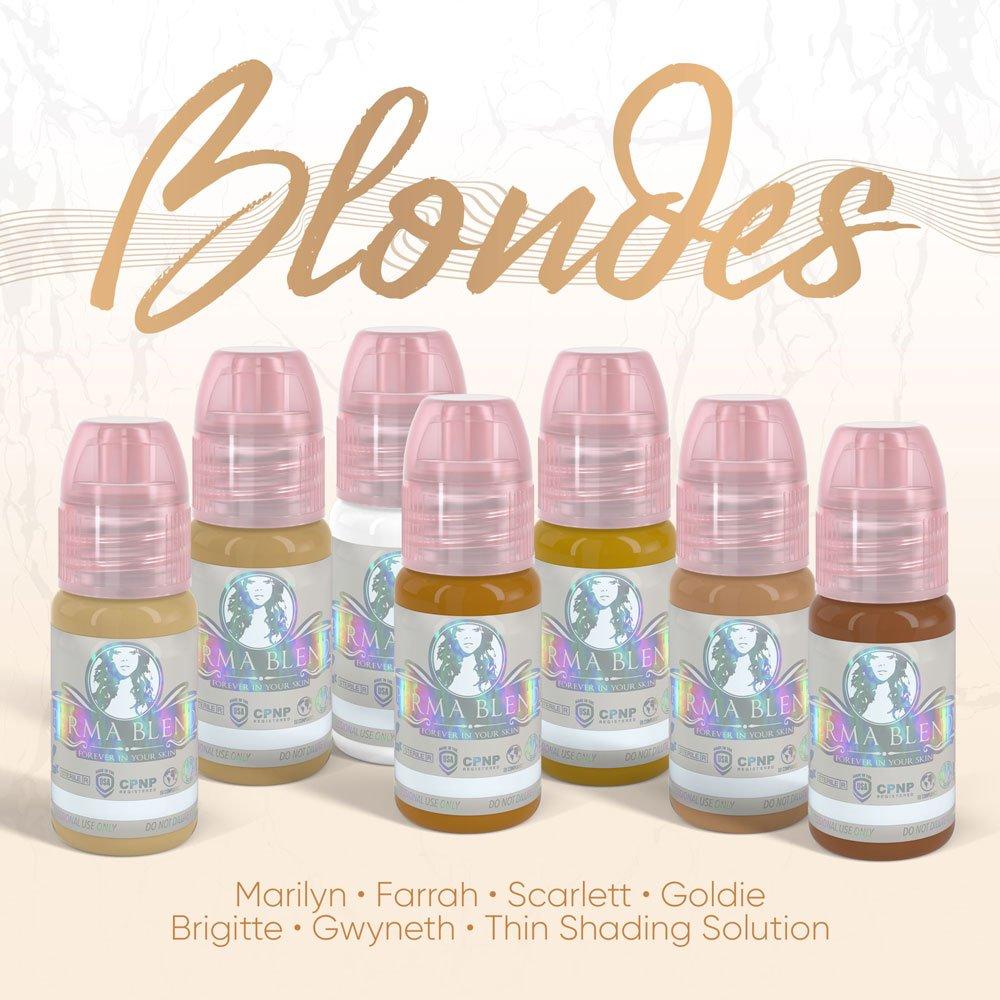 Ensemble de pigment Blondes de Perma Blend